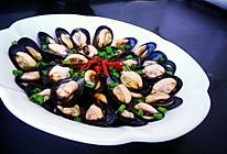 淡菜的新吃法灬葱油淡菜 (黑牡丹)的做法
