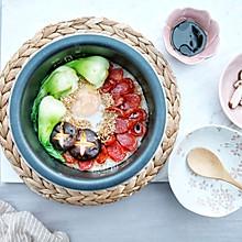 #今天吃什么#经典美食在家做—广式腊肠煲仔饭