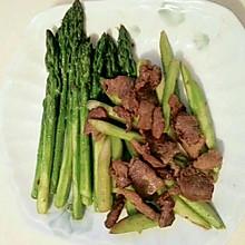 鲜芦笋炒肉