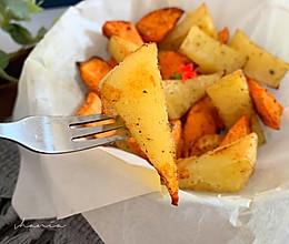美味烤薯角的做法
