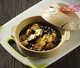 草菇豆腐煲的做法
