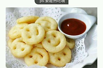微笑土豆饼