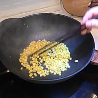 剩饭不用倒,巧手做夏日海鲜菠萝炒饭的做法图解4