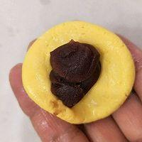 南瓜豆沙糯米糍的做法图解4