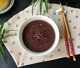 红豆糙米粥的做法