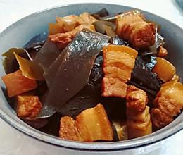 红烧肉炖海带的做法