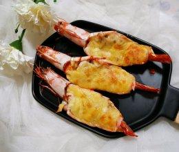 #憋在家里吃什么#芝士焗大虾的做法