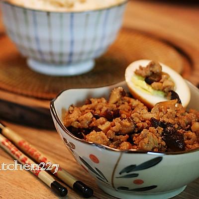肉燥饭——给自己点时间,慢慢炖【菁选酱油试用菜谱】