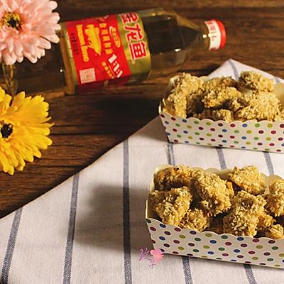 免油炸香酥鸡米花