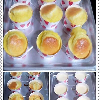 香草纸杯蛋糕(8个纸杯量)