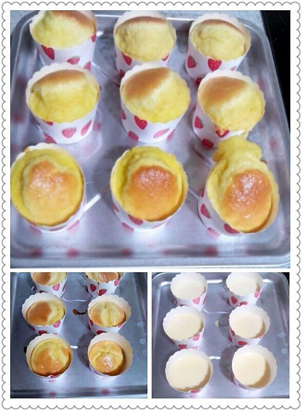香草纸杯蛋糕(8个纸杯量)的做法