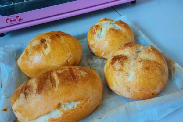 德式面包~的做法