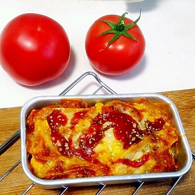 美食土豆片←_←安佳马苏里拉奶酪烤土豆片