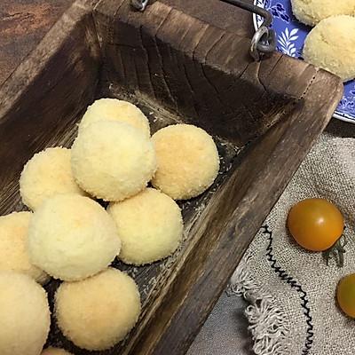 蛋黄椰蓉球