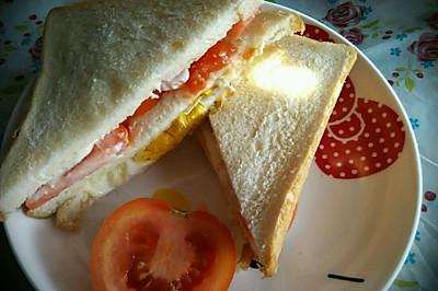 三明治  十分钟 快捷早餐