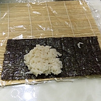 樱花卷寿司的做法图解8