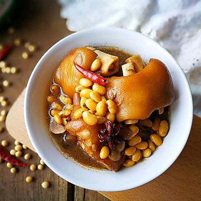 酱香黄豆猪蹄