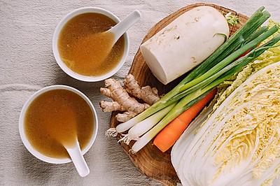 秘制蔬菜高汤 | 家中必备宝藏食谱,不加一块肉却堪比肉鲜美
