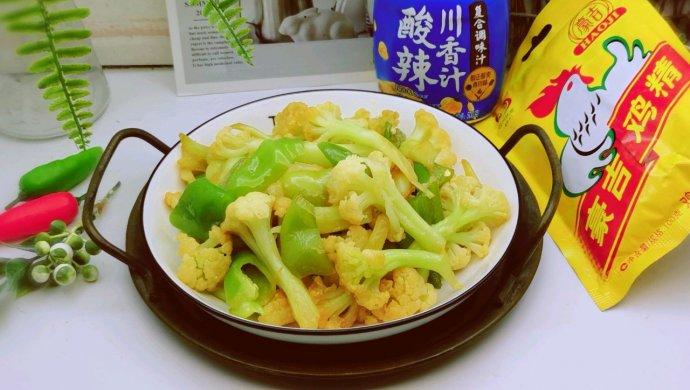 酸辣花椰菜
