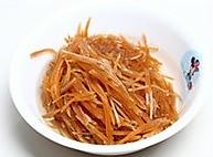 黄豆炒咸菜的做法图解2