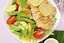 #321沙拉日#柠檬鸡排沙拉的做法