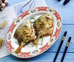 #快手又营养,我家的冬日必备菜品#椒盐鲳鱼的做法