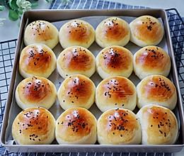 #入秋滋补正当时#一次发酵豆沙面包的做法