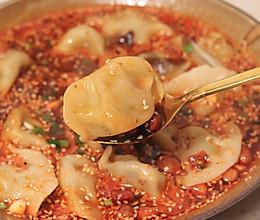 酸汤水饺这样做,一人一盘不够吃的做法