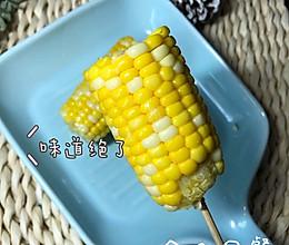 1分钟快手早餐黄油焗玉米的做法