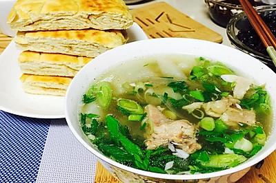 砂锅羊肉汤--冬季暖身