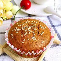 芝麻红枣纸杯蛋糕#豆果5周年#的做法图解10