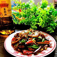 飘香小炒肉#金龙鱼外婆乡小榨菜籽油 我要上春碗#