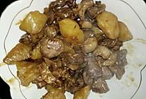 鸡胗炖土豆。东北炖菜。的做法