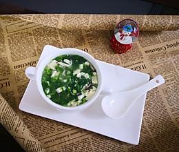 白菜豆腐羹的做法
