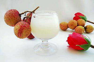 鲜榨荔枝汁
