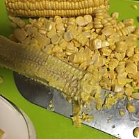 核桃玉米汁#春天不减肥,夏天肉堆堆#的做法图解2