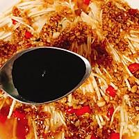 好吃到爆,超下饭的蒜蓉金针菇的做法图解12