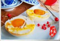 流油金黄咸鸭蛋的做法