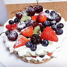 八寸水果奶油裸蛋糕
