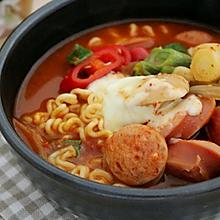 超正宗韩国最美味部队锅家常做法