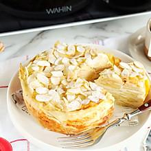 圣诞风法式苹果千层蛋糕