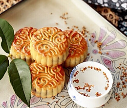 奶香椰蓉月饼~椰香浓郁,超级诱人的做法