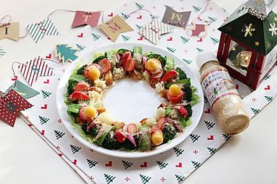 圣诞花环-丘比沙拉汁