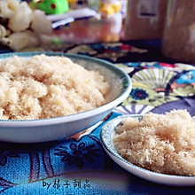#嘉宝笑容厨房#面包机版健康零添加酥松的猪肉松