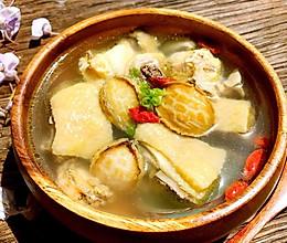 春季养生鲜鲍鱼土鸡汤的做法