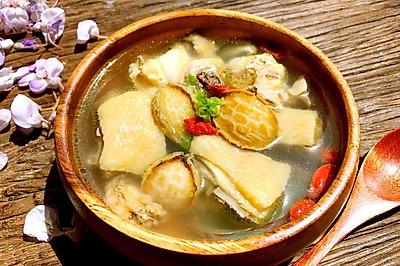春季养生鲜鲍鱼土鸡汤