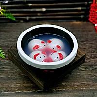 #新年开运菜,好事自然来#猪圆玉润芝麻汤圆的做法图解23