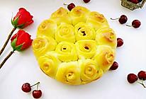 蔓越莓玫瑰花面包#福临门好面用芯造#的做法