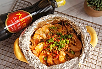 蒜蓉粉丝烤虾的做法