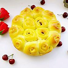 蔓越莓玫瑰花面包#福临门好面用芯造#